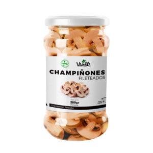 Champiñones Fileteados